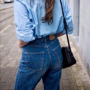 Levi's Vintage 550 Blue Jeans Size 10